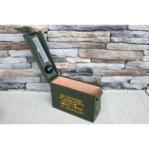 The 30 Ammo Can Cigar Humidor