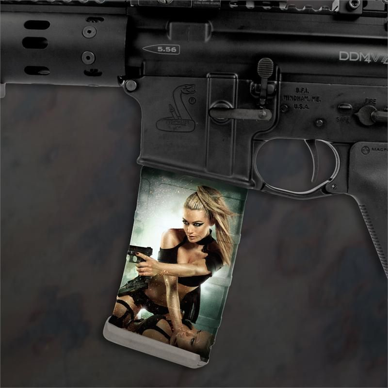 Ar 15 Mag Wraps Hot Shots Girls 2012