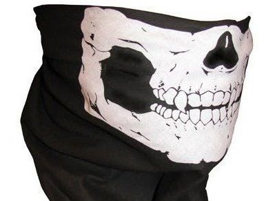 Skull Mask with Fangs