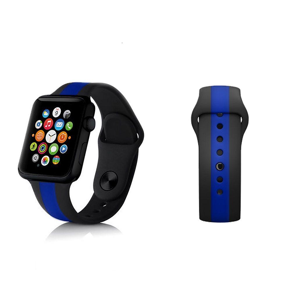 Thin Blue Line Imatter 174 Apple Watch Band