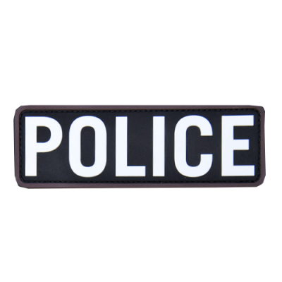 POLICE 6x2 PVC Patch-Swat