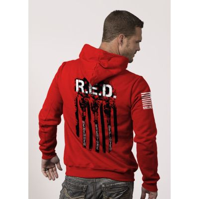 Nine Line Apparel R.E.D. (Remember Everyone Deployed) Hoodie