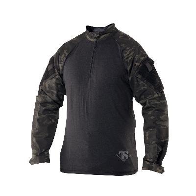 Tru-Spec TRU 1/4 Zip Combat Shirt Nylon/Cotton Rip-Stop