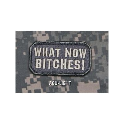 What Now Bitches! Patch