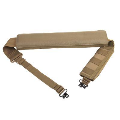 Shotgun Bandolier Sling With Sling Swivel Hardware - Tan