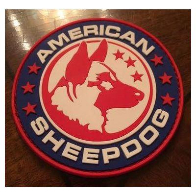 American Sheepdog PVC Patch