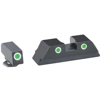 Ameriglo Classic Glock Tritium Night Sights (Green)