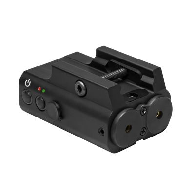 Designator Box With Green And Red Laser/ Rail Mount/ Remote Pressure Switch/ Black