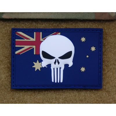 3D PVC Australian Punisher Flag patch