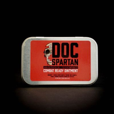 Doc Spartan Combat Ready Ointment Big Tin