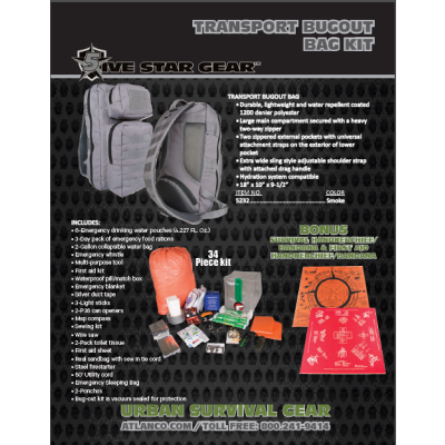 Transport Bugout Bag