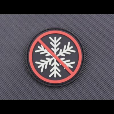 NO SNOWFLAKES ALLOWED GITD 3D PVC MORALE PATCH