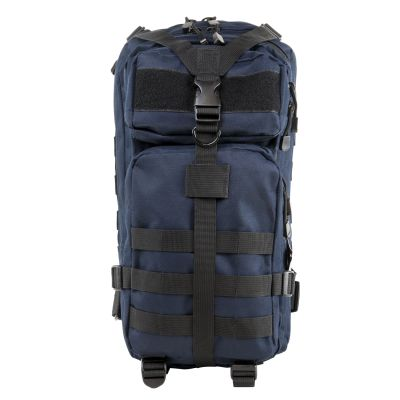 Small Assault Backpack/Blue With Black Trim