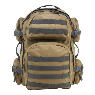 Tactical Backpack/Tan With Urban Gray Trim