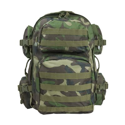 Tactical Backpack/Woodland Camo