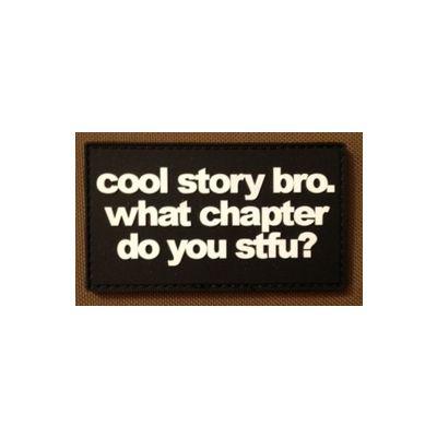 Cool Story Bro PVC
