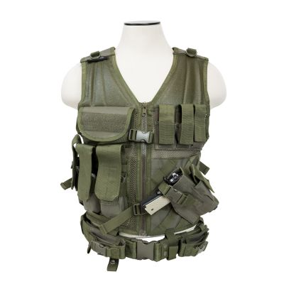 Tactical Vest/Green  M-Xl