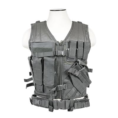 Tactical Vest/Urban Gray  M-Xl