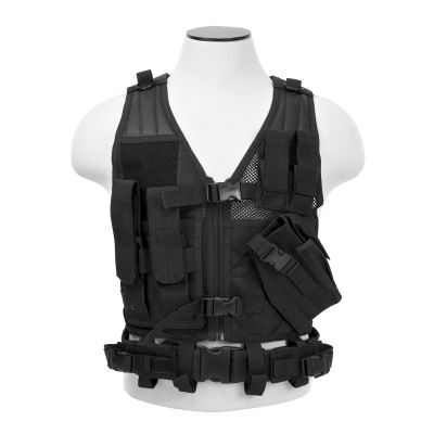 Tactical Vest/Black Xs-S