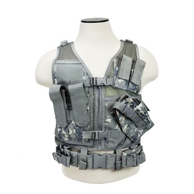 Tactical Vest/Digital Camo Xs-S