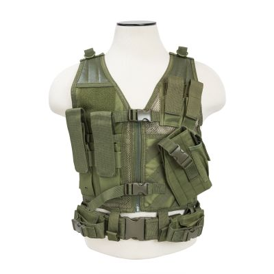 Tactical Vest/Green Xs-S