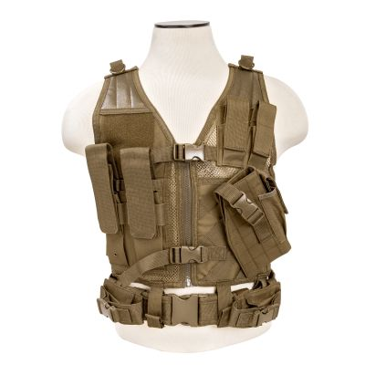 Tactical Vest/Tan Xs-S