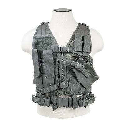 Tactical Vest/Urban Gray  Xl-Xxl+
