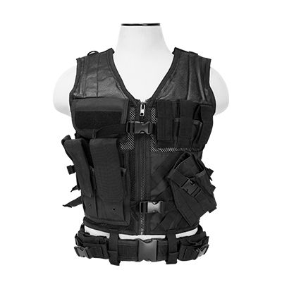 Tactical Vest/Black  Xl-Xxl+