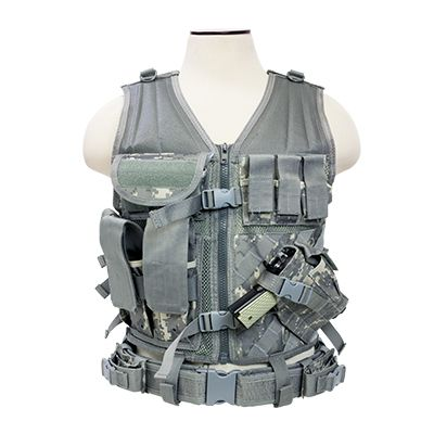 Tactical Vest/Digital Camo  Xl-Xxl+