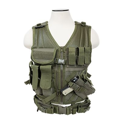 Tactical Vest/Green  Xl-Xxl+