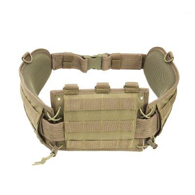 Battle Belt W/ Pistol Belt/Tan
