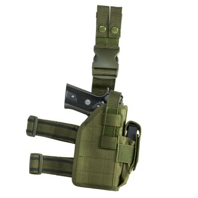 Drop Leg Universal Holster/ Green