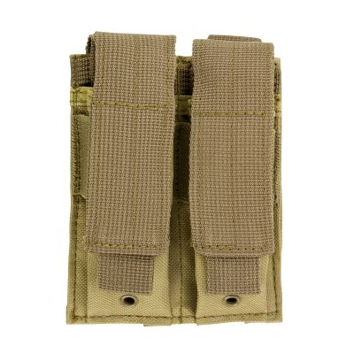 Double Pistol Mag Pouch/Tan