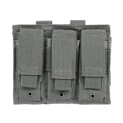Triple Pistol Mag Pouch/Urban Gray