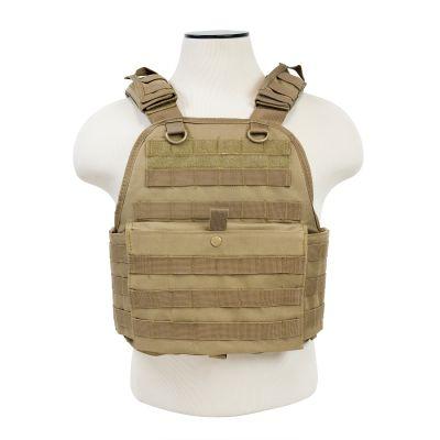 Plate Carrier Vest/Digital Tan