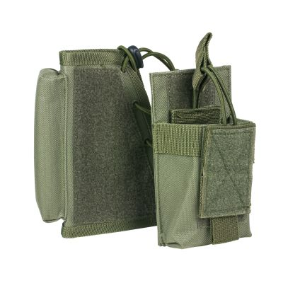 Stock Riser With Mag Pouch/Green