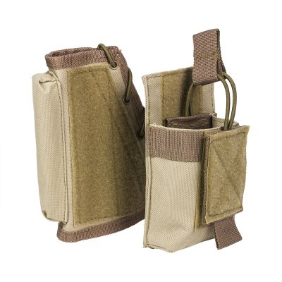 Stock Riser With Mag Pouch/Tan