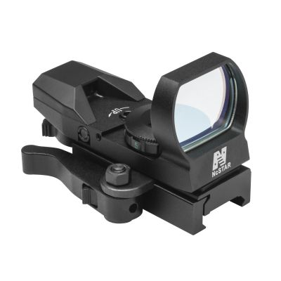 Red Reflex Sight/4 Reticles/Qr Mnt/Blk