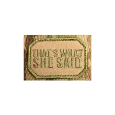 That's What She Said - Patch
