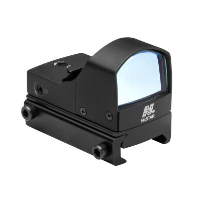 Compact Tactical Green Dot Reflex Sight/Weaver Base/Black