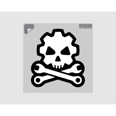 Death Mechanic Decal