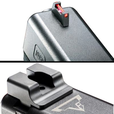 TTI Ultimate Fiber Optic Sight Set for Glock