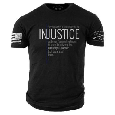Grunt Style JUSTICE THIN BLUE LINE