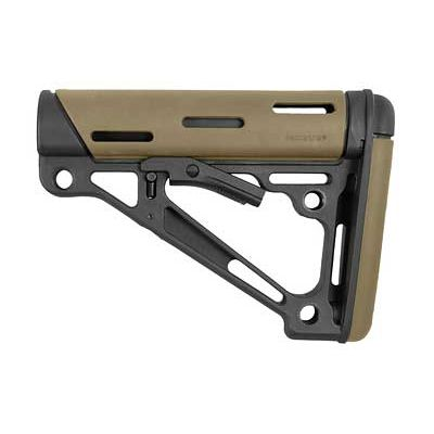 HOGUE AR15 STOCK MIL-SPEC RBR FDE