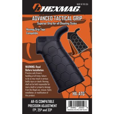 Advanced Tactical Grip from Hexmag-Black