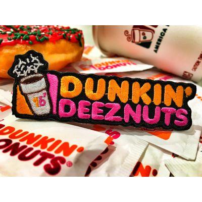 DUNKIN DEEZ NUTS' 2016 DUNKIN DONUTS COFFEE MORALE PATCH