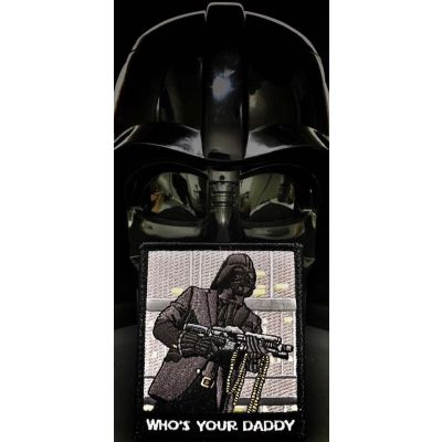Tactical Darth Vader Who's Your Daddy Patch