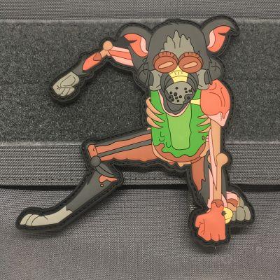 PICKLE RICK RAT SUIT V2 – 3D PVC MORALE PATCH