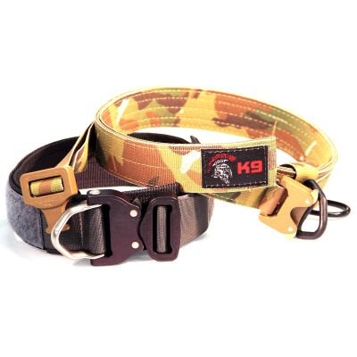 Tactical Shit Heavy Duty Working K-9 Collar