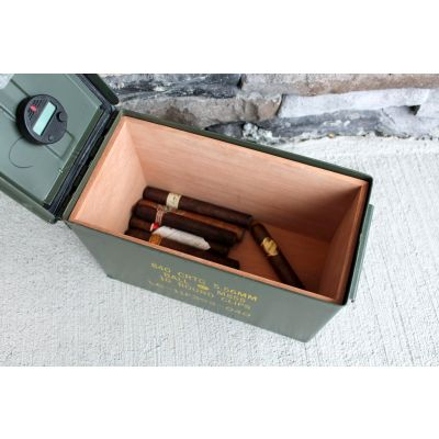 The 50 Ammo Can Humidor by Ammodor